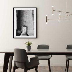 LighthousedoorBW framed insta