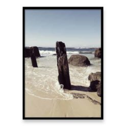 Broken Pier Wall Art Print