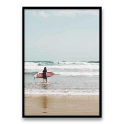 Berrys Surfer Wall Art Print