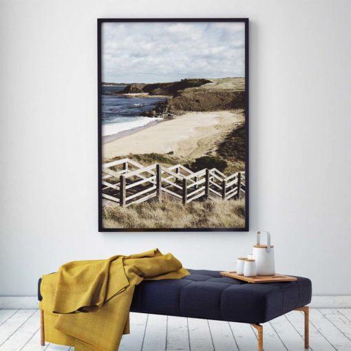 Bore Beach Wall Art Print