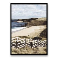 Bore Beach Wall Art Print