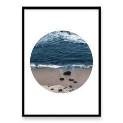 HxD BeachBreakCircle framed web
