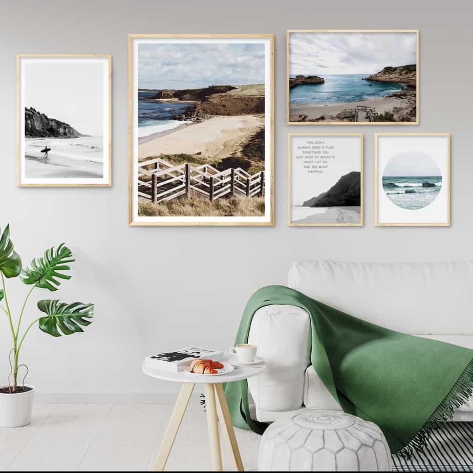 wall art print beach gallery