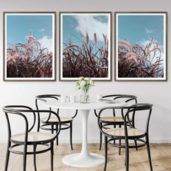 Set of 3 Prints - Grass In Wind Wall Art Prints