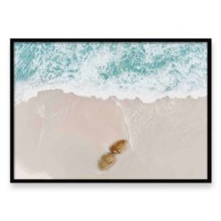 Beach Rocks LS- Wall Art Print