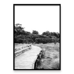 Boardwalk - Wall Art Print