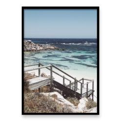 Salmon Bay Steps II - Wall Art Print