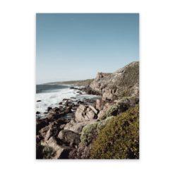 West Coast Cliffs - Wall Art Print