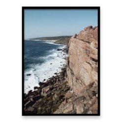 West Coast Cliffs 2 Wall art print