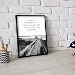 Motivation Quote - wall art print