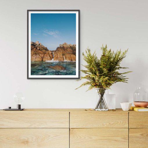 Natural Spa - Wall Art Print