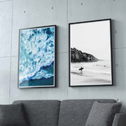Set of 2 Surf Prints - Coastal Gallery Wall Art Prints