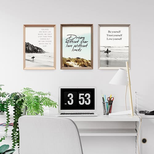 quote wall art prints