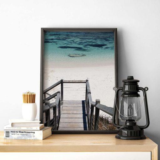 Salmon Bay Steps - Wall Art Print