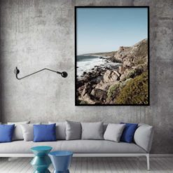 West Coast Cliffs - Wall Art Print