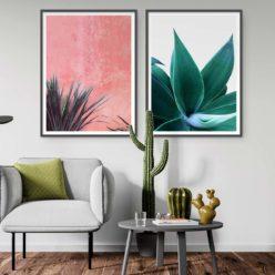 Set of 2 Prints - Plant Wall Art Prints