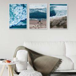 Set of 3 Prints - Beach Break Wall Art Prints
