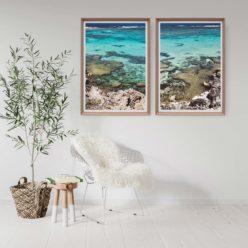 Little Salmon Bay View Set of 2 - Wall Art Print