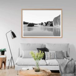 Elephant Rocks BW - LS - Wall Art Print