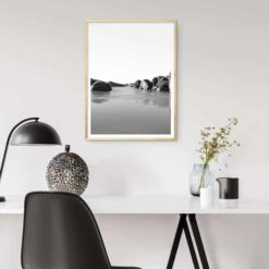 Elephant Rocks BW - Wall Art Print