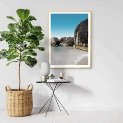 Elephant Rocks Calm - Wall Art Print