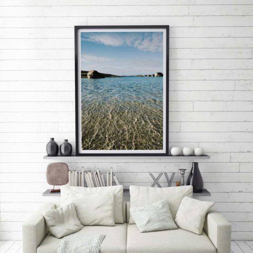 Greens Pool Texture - Wall Art Print