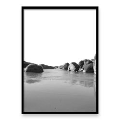 Elephant Rocks BW - Wall Art Print
