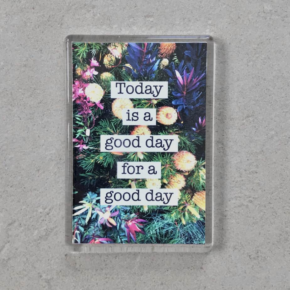 today is a good day magnet