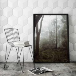 Misty Forest II- Wall Art Print