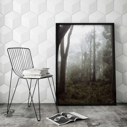 Misty Forest II - Wall Art Print