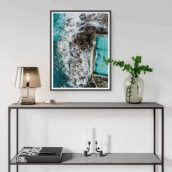 Coalcliff Rock Pool - Wall Art Print