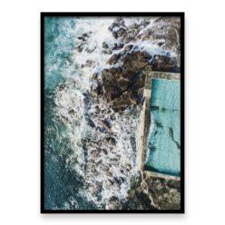 Coalcliff Rock Pool - wall art print