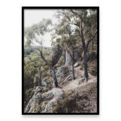 Trees on Edge - Wall Art Print