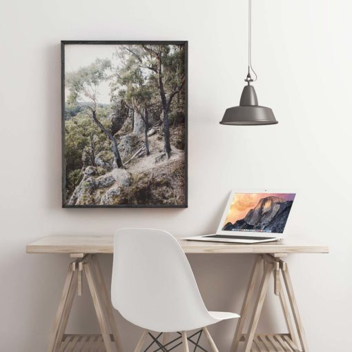Trees on Edge - Wall Art Print