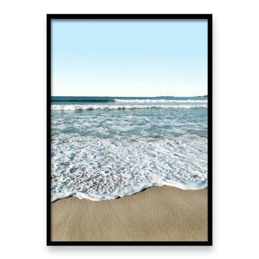Morning Waves - Wall art print