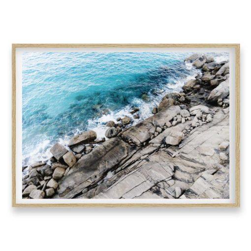 Rocky Coast - Wall Art Print