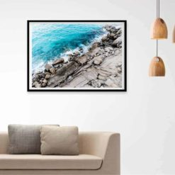 Rocky Coast - Wall Art Print