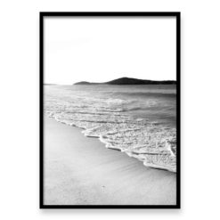 Morning Walk BW- Wall Art Print
