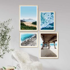 Ocean Gallery wall set