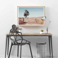 Outback Gate - HZ Wall Art Print