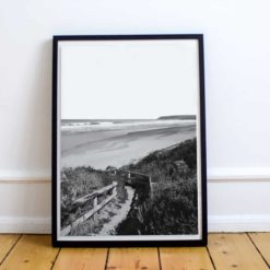 Sandy Path BW- Wall Art Print