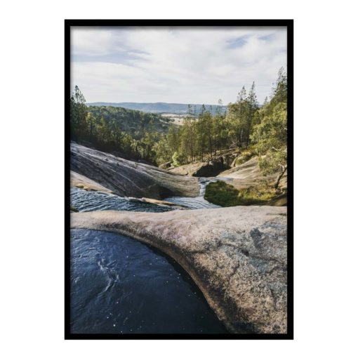 view from the gorge- wall art print