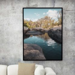 The Cascades - wall art print