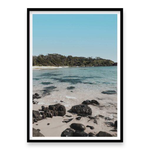 Beach Calm Wall Art Print