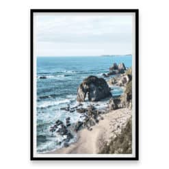 Coastline View Wall Art View