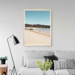 Mullimburra Point Beach Wall Art Print