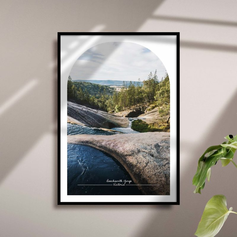 Beechworth Gorge Travel Poster