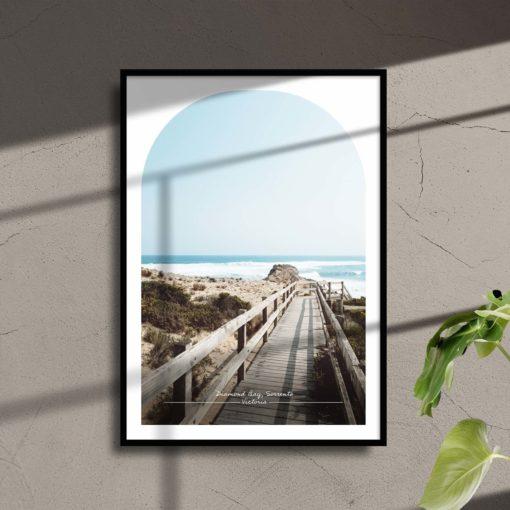 Diamond Bay Travel Poster