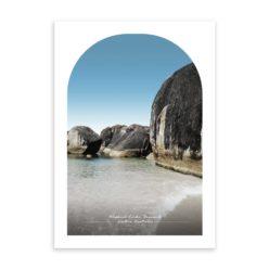 Elephant Rocks Travel Poster
