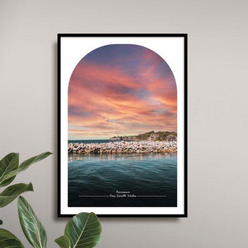 Narooma Travel Poster